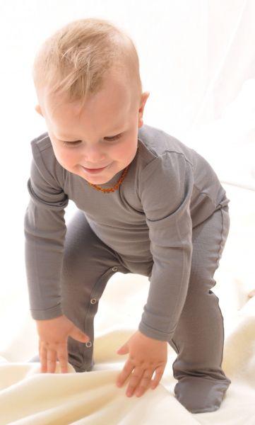 Baby Strampler BioWolle/BioSeide