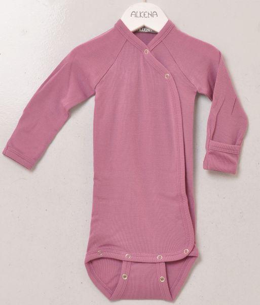 Baby Wickelbody langarm BioWolle/BioSeide-