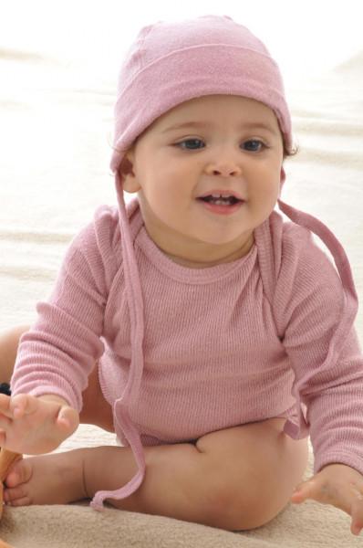 Baby Mütze aus Bourreteseide