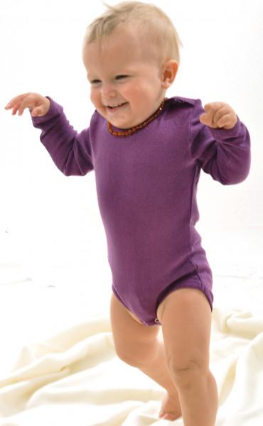 Baby Body langarm BioBourretteseide