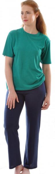 Kurzarm Shirt BioBourretteseiden Jersey