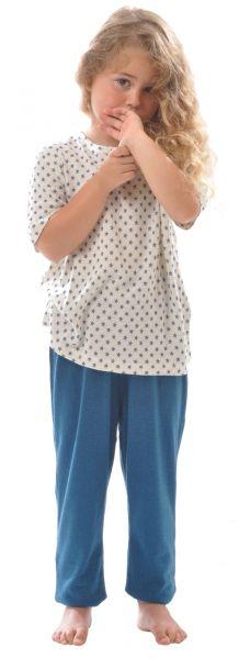 Kinder kurzarm Shirt BioBourretteseide
