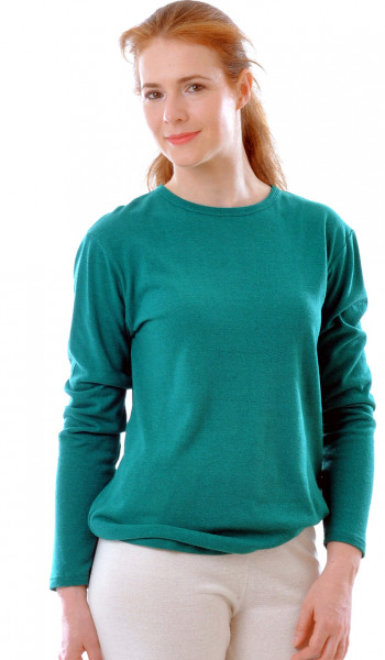 Langarm Shirt BioBourretteseiden Jersey