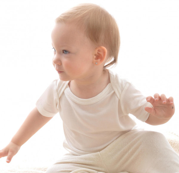 Schlupfhemd Kurzarm Bioseide Baby